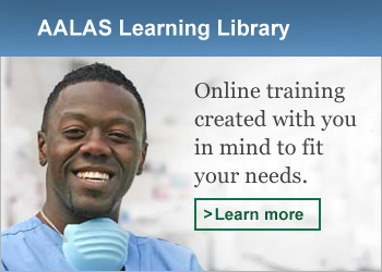 AALAS Learning Library - Online training created with you in mind to fit your needs.